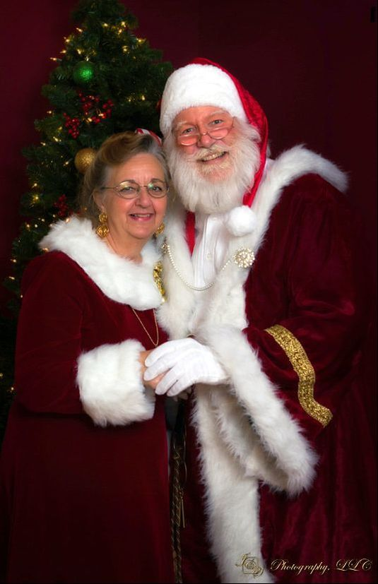 Mrs. Clause tailors all of SantaSoHappy's suits
